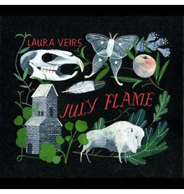 Raven marching records (LP) Laura Veirs - July Flame (2021 Repress/Transparent Vinyl)