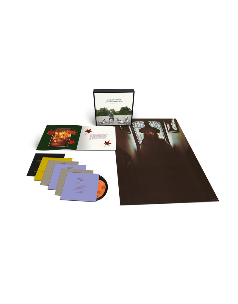 (CD) George Harrison - All Things Must Pass (5CD+1BluRay Audio/Super Deluxe Box Set Edition)