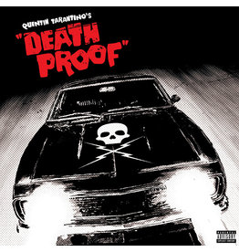 (LP) Soundtrack - Quentin Tarantino - Death Proof (Red/Clear/Black)