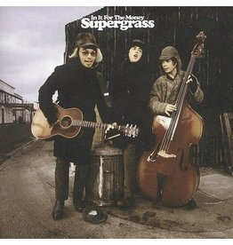 (LP) Supergrass - In It For The Money ((2LP/Turquoise/Indie Exclusive/2021 Remaster)