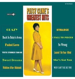 (LP)  Patsy Cline -  Greatest Hits