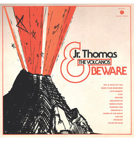 (LP) Jr. Thomas & The Volcanos - Beware (transparent orange)