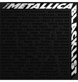 Blackened (CD) Metallica And Various Artists - The Metallica Blacklist (4CD)