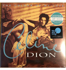 (LP) Celine Dion – The Colour Of My Love ( 2LP, Limited Edition, Turquoise)