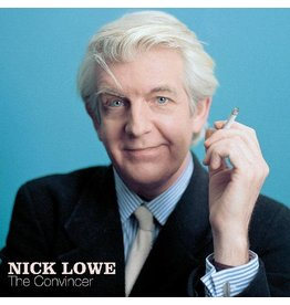 (LP) Nick Lowe - The Convincer (20th Anniversary Edition (Blue Vinyl + 45)