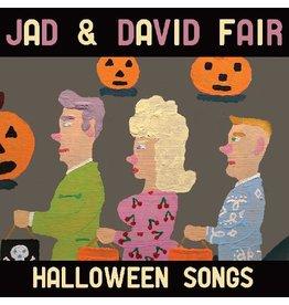 (LP) Jad & David  Fair - Halloween Songs (Opaque Orange with Black Swirl Vinyl)