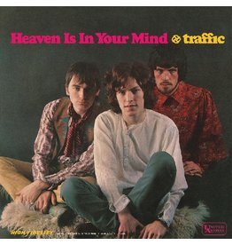 (LP) Traffic - Heaven Is In Your Mind/Mr. Fantasy (YELLOW VINYL)