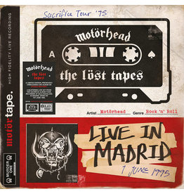 Black Friday 2021 (LP) Motorhead - The Lost Tapes Vol. 1 (Lost In Madrid 1995) BF21