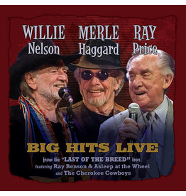 Black Friday 2021 (LP) Willie Nelson, Merle Haggard & Ray Price- Big Hits Live From The Last Of The Breed Tour BF21