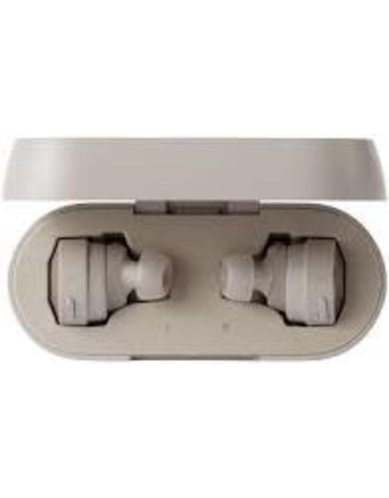 Audio-Technica - Solid Bass Wireless In-Ear Headphones (Khaki/White) ATH-CKS5TW