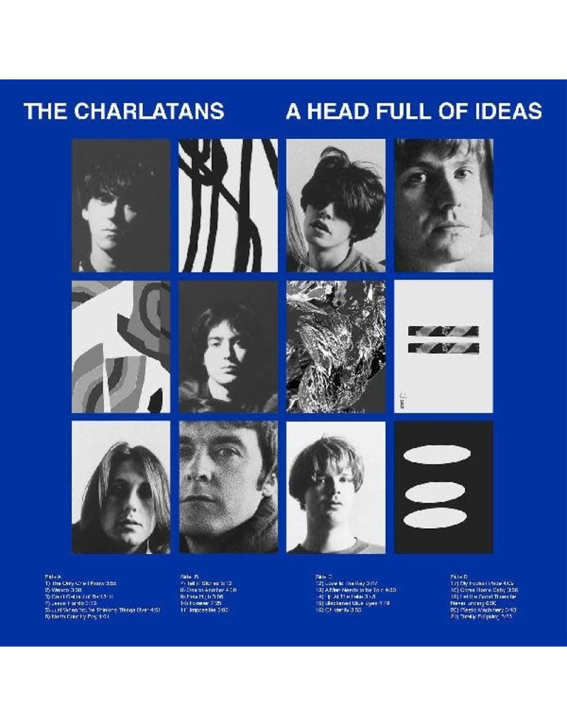Then Records (CD) Charlatans UK, The - A Head Full of Ideas