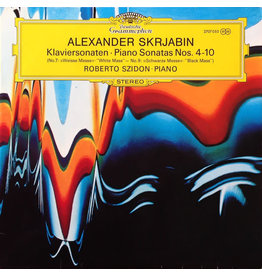 "(Used LP) Alexander Skrjabin – Piano Sonatas Nos. 4-10 ""No. 7 White Mass"": ""No.9 ""Black Mass"" (568)"