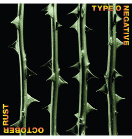 (LP) Type O Negative - October Rust (25th Anniversary Edition Green And Black Mixed Vinyl)