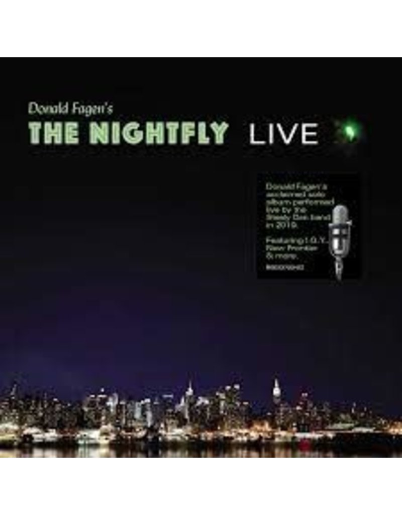 (CD) Donald Fagen - The Nightfly: Live