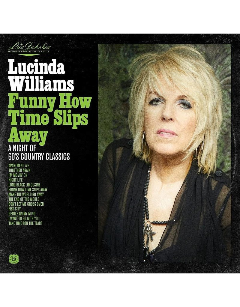 Highway 20 (CD) Lucinda Williams - Lu's Jukebox Vol. 4: Funny How Time Slips Away: A Night of 60's Country Classics