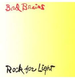ORG Music (LP) Bad Brains - Rock For Light (2021 Reissue)