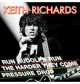 "(LP) Keith Richards - Run Rudolph Run (12"" single reissue/Splatter/45 RPM)"