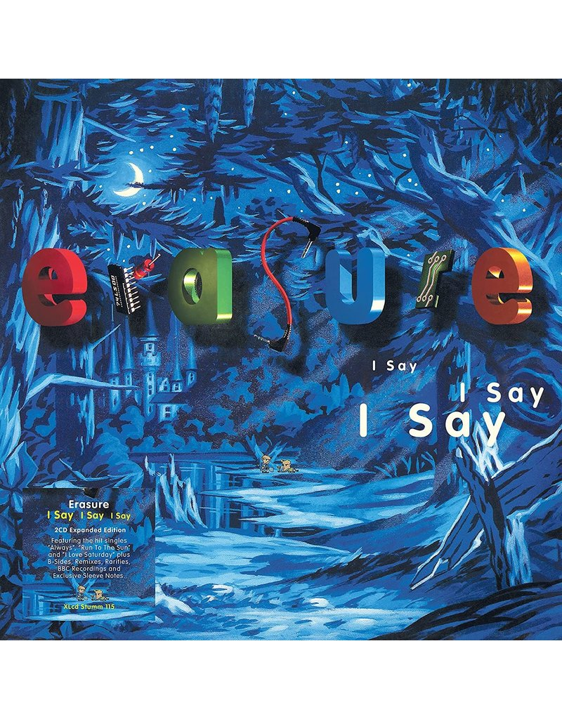 Mute (CD) Erasure - I Say I Say I Say (2CD+Book) (2021 Expanded Deluxe Edition)