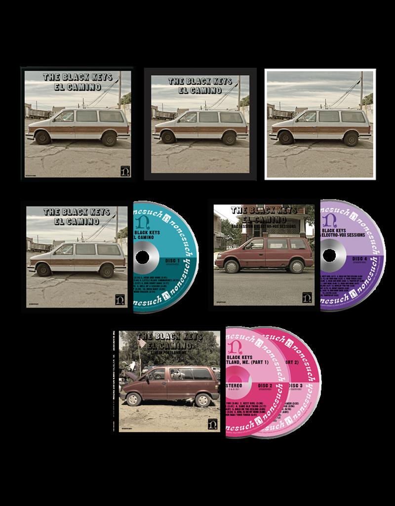 (CD) Black Keys - El Camino (4CD) 10th Anniversary Super Deluxe Edition