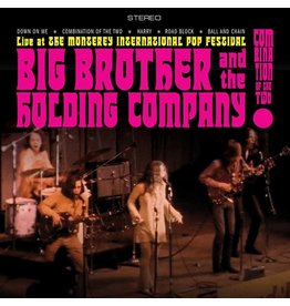 Black Friday 2021 (LP) Big Brother & The Holding Company - Combination Of The Two: Recorded Live At The Monterey International Pop Festival (Coloured) BF21