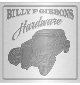 Black Friday 2021 (CD) Billy F Gibbons - Hardware (Limited deluxe edition/3D tin case/Expanded booklet) BF21