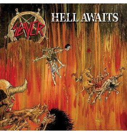 (LP) Slayer - Hell Awaits (2021 Repress on Red marbled)