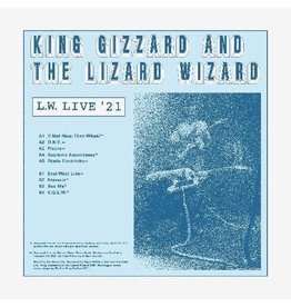 We Are Busy Bodies (LP) King Gizzard & The Lizard Wizard - L.W. Live in Australia (REVERSE GROOVE ON CLEAR)