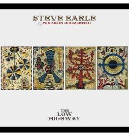 (LP) Steve Earle & The Dukes (& Duchesses) - The Low Highway (Butter Cream Color Vinyl)