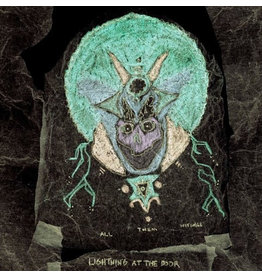 (LP) All Them Witches - Lightning at the Door  (Green, Purple and Silver Vinyl)