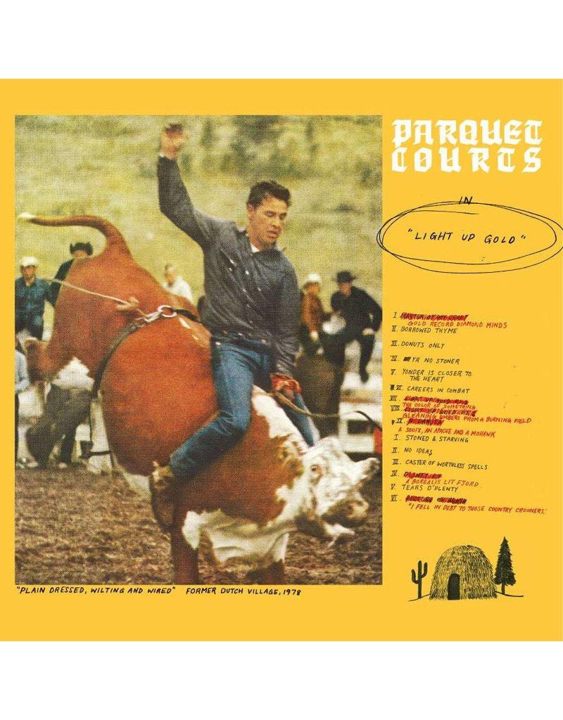 (LP) Parquet Courts - Light Up Gold (2021 Reissue/ Glow in the dark vinyl)