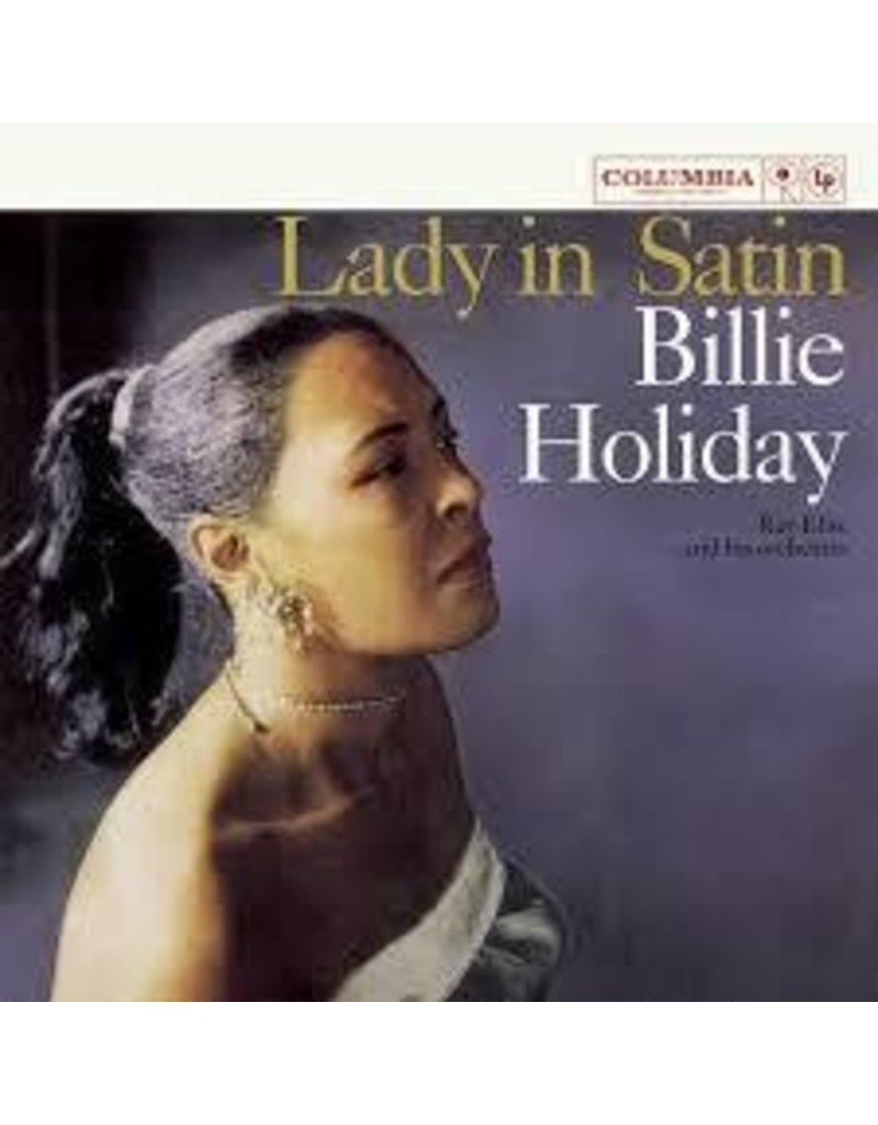 (LP) Billie Holiday - Lady In Satin