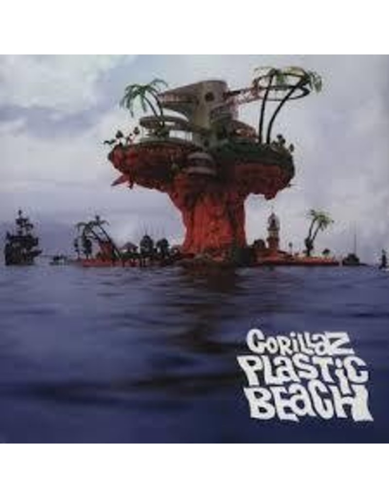 (LP) Gorillaz - Plastic Beach (2LP)