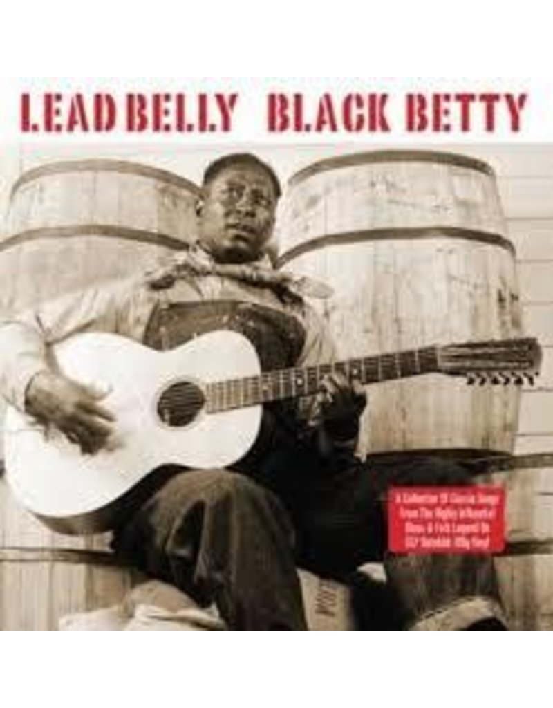 (LP) Lead Belly - Black Betty