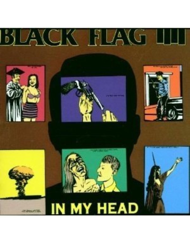(LP) Black Flag - In My Head (DIS)