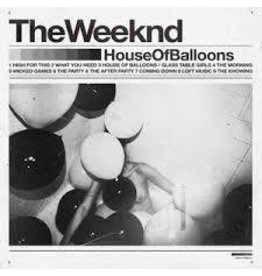 (LP) Weeknd - House Of Balloons