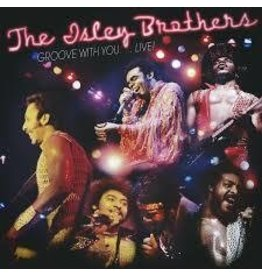 (LP) The Isley Brothers - Groove With You Live! (Gold&Blue)