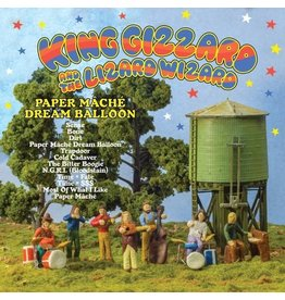 Fontana North (LP) King Gizzard & The Wizard Lizard - Paper Mache Dream Balloon (Orange)