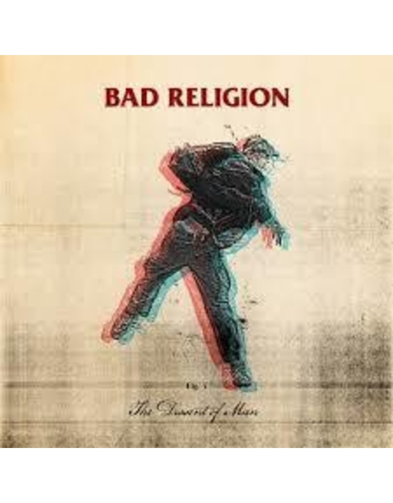 (LP) Bad Religion - The Dissent of Man (includes CD) (DIS)