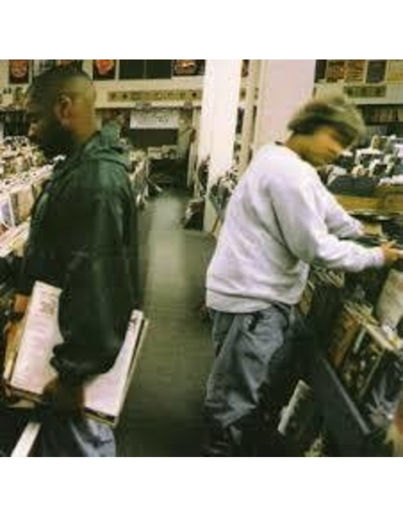 (LP) DJ Shadow - Endtroducing (2LP) (DIS)