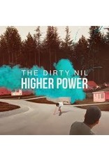 (LP) The Dirty Nil - Higher Power (Clear with Teal Splatter Vinyl)