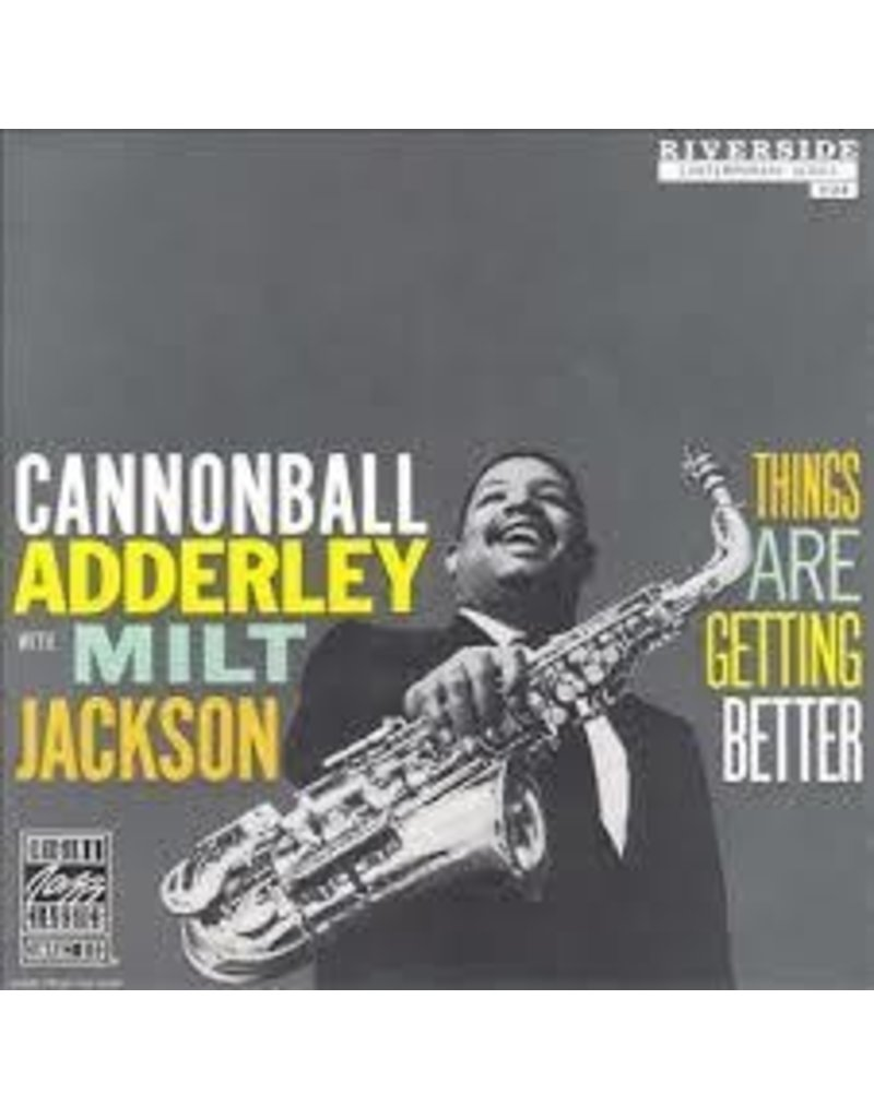 (LP) Adderley, Cannonball & Milt Jackson - Things Are Getting Better (DIS)