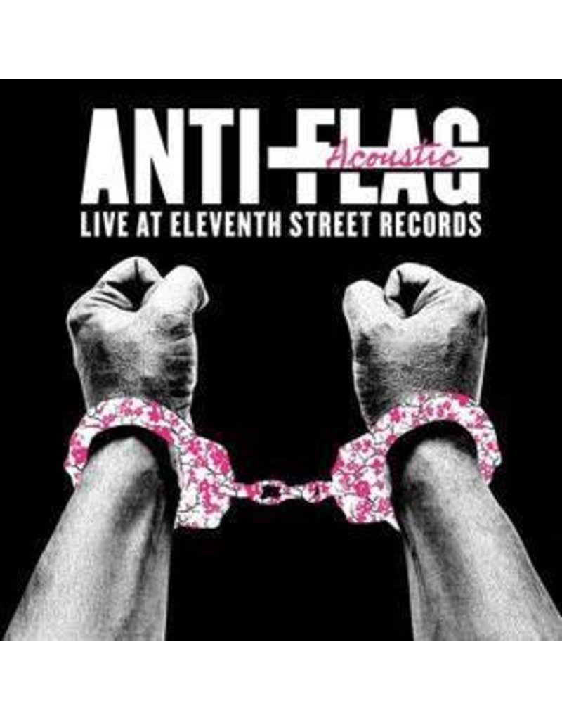 (LP) Anti-Flag - Live Acoustic at 11th St. Records (clear Vinyl) rsd16