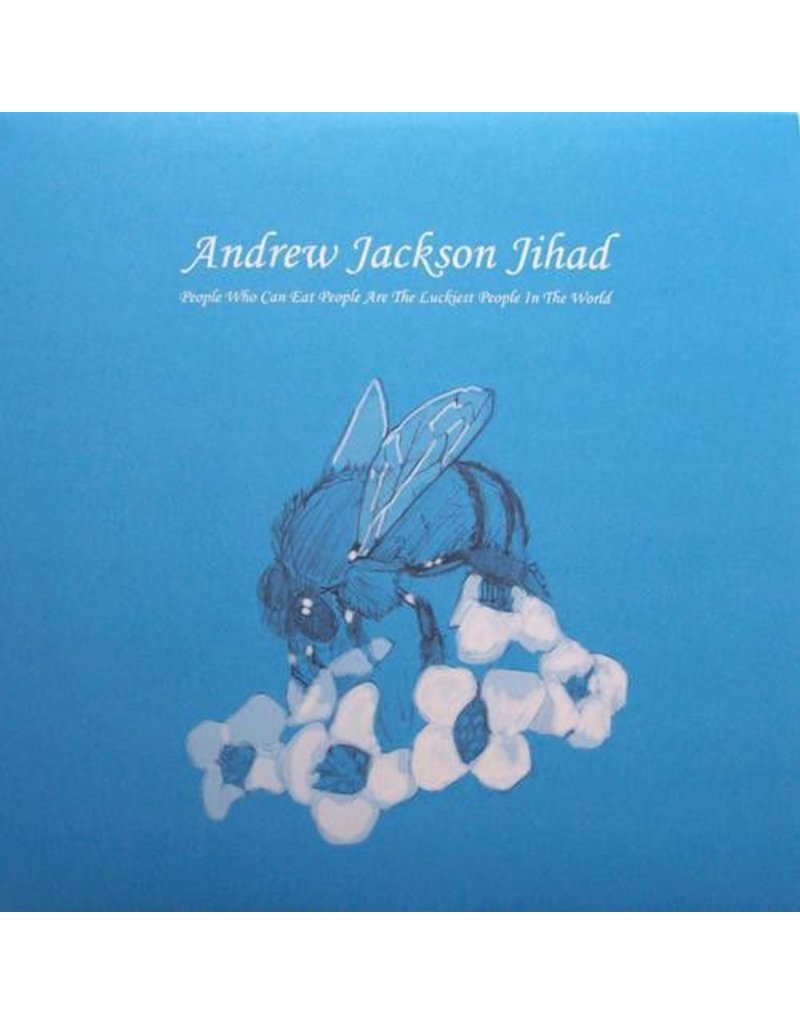 (LP) Andrew Jackson Jihad - People Who Can Eat People Are The Luckiest People In The World (brownish marble)