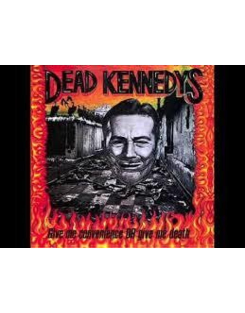 (LP) Dead Kennedys - Give Me Convenience Or Give Me Death (DIS)