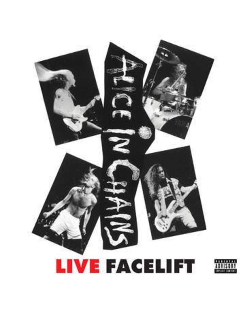 (LP) Alice In Chains - Facelift Live BF16