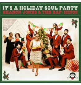 (LP) Sharon Jones & The Dap-Kings - Its A Holiday Soul Party (Candy Cane Color Vinyl)