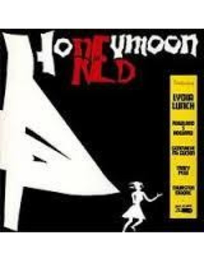 (LP) Lunch, Lydia - Honeymoon In Red (150g/Gatefold)