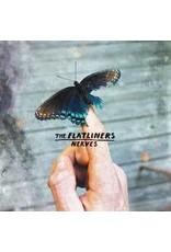 """(LP) The Flatliners - Nerves EP (7"""" Blue / White Marble Vinyl (Ltd to 500)"""