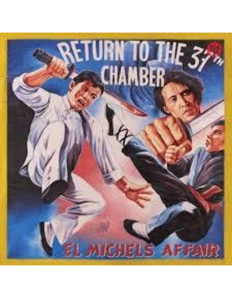(LP) El Michels Affair - Return to the 37th Chamber (4 different covers) (DIS)