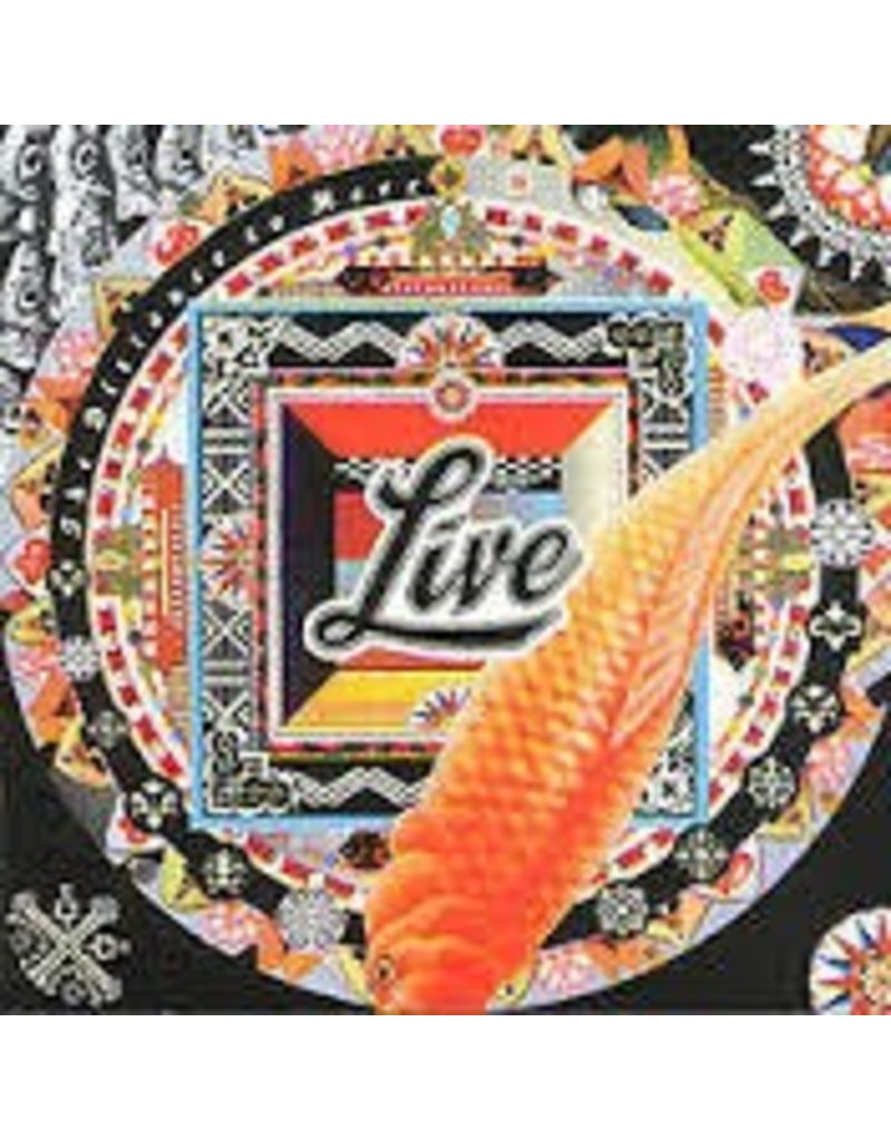 (LP) Live - The Distance to Here (180g/embossed sleeve/4-page insert)